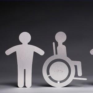 Signalétique Braille - Gravure Braille - Marquage Braille